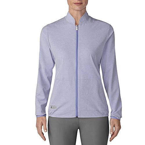 adidas Golf - Chaqueta cortavientos reversible para mujer, color morado