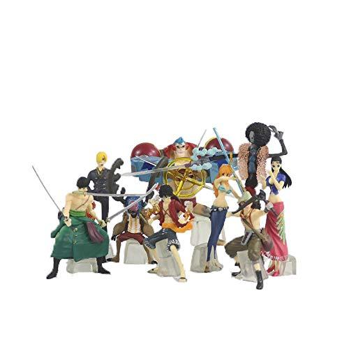 Toy La Lucha De Una Pieza del Sombrero De Paja Piratas Piratas Sombrero De Paja De Pie Fishman Island Animación De Personajes Modelo Animado Estatua Decoración Carácter De Colección De Juguetes