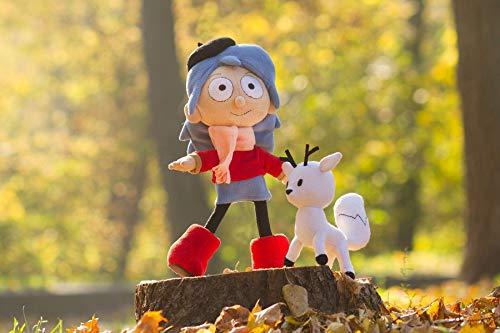 Hilda doll, Hilda plush, Twig plush, Hilda and Twig toys, handmade to order