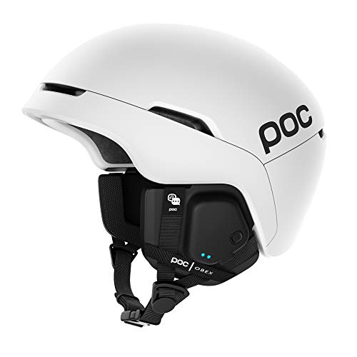 POC, Obex Spin Communication Snowboard and Ski Helmet, Built-in Bluetooth Speaker and Mic, Breathable and Adjustable