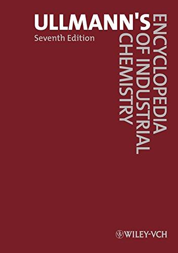 Ullmann's Encyclopedia of Industrial Chemistry, 40 Volume Set