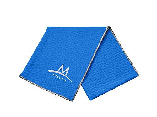 Mission Enduracool Techknit Cooling Towel, Blue, X-Large