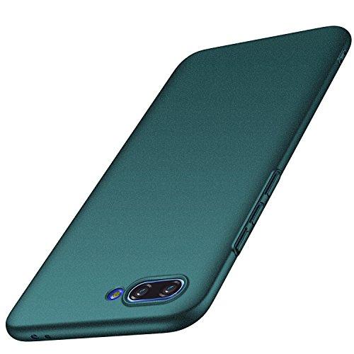 Huawei Honor 10 Hülle, Anccer [Serie Matte] Elastische Schockabsorption und Ultra Thin Design für Huawei Honor 10 (Kies Grün)