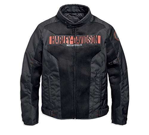 HARLEY-DAVIDSON Nemahbin Mesh Riding Jacke, 97152-19EM, XXL