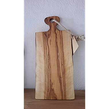Rustic Olive Wood Cutting/Cheese Board