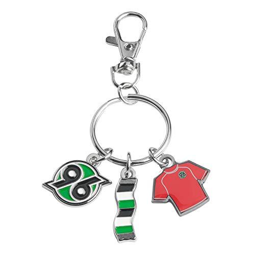 Hannover 96 Schlüsselanhänger - Charms - Anhänger Logo,Schal,Trikot Keychains H96 - Plus Lesezeichen I Love Hannover