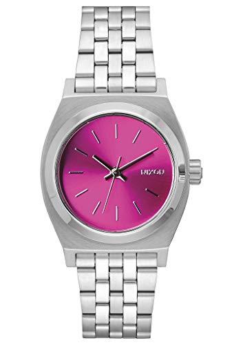 Nixon Reloj Analógico para Mujer de Cuarzo con Correa en Acero Inoxidable A1130-1972-00