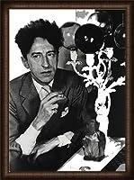 ポスター コムデギャルソン Comme des garcons Sixth sense Jean Cocteau 額装品 ウッドハイグレードフレーム(オーク)