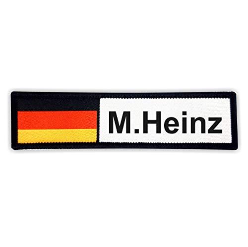 Duitsland leger WUNSCHTEXT gepersonaliseerd patch met klittenbandsluiting I badge patch klittenband Duitsland naam Duits Duits adelaar vlag vlag vlag logo patch sticker jas Army Bundeswehr band