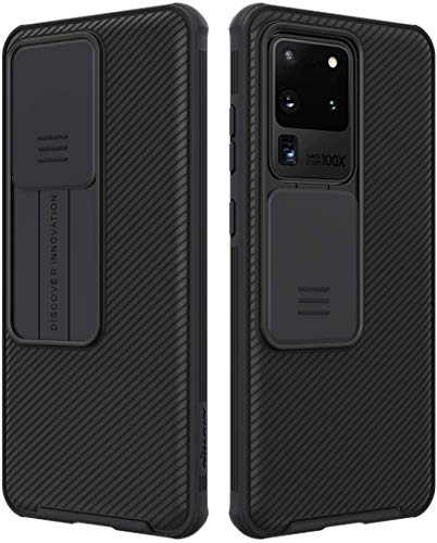 Nillkin CamShield Pro Series Samsung Galaxy S20 Ultra Hülle, stilvolle Schutzhülle mit Schiebekamera-Abdeckung Ultra Dünn Premium Bumper Hybrid Handyhülle für Samsung Galaxy S20 Ultra