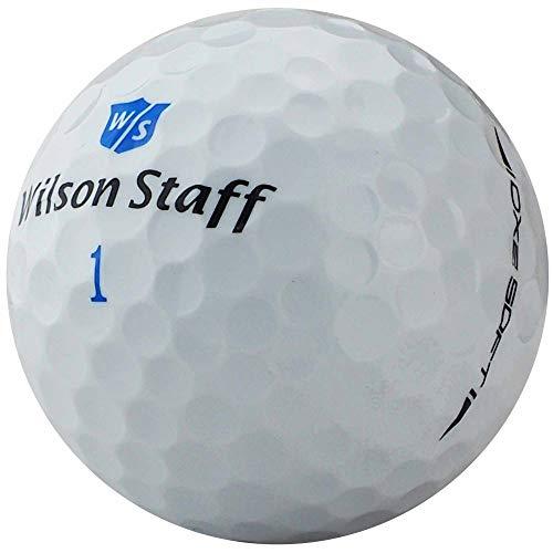 lbc-sports Wilson Staff DX2 Soft Lady Golfbälle - AAAAA - Weiß - Lakeballs - gebrauchte Golfbälle - ohne Logos (50 Bälle)