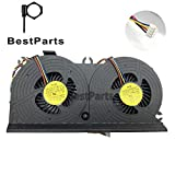 BestParts Replacement New CPU Cooling Fan for HP EliteOne 800 G1 800G1 705 G1 705G1 Laptop All-in-one 733489-001 MF80201V1-C010-S9A DFS602212M00T Fan