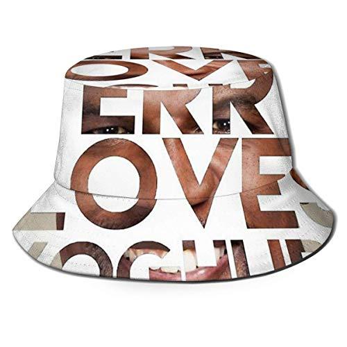 XCNGG El Equipo A Me Encanta Cuando un Plan se Junta Gorra de Playa Unisex Summer Sun Bucket Hat