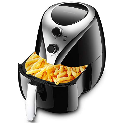 BTSSA Multifunction Electric Air Fryer- 5L Capacity Hot Air Fryer, 1400 Watt, Digital Touch Screen with Cooking Presets, Comfortable and Accurate Timing Design