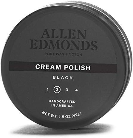 Allen Edmonds Men s Cream Polish Shoe Black One Size 0X US product image