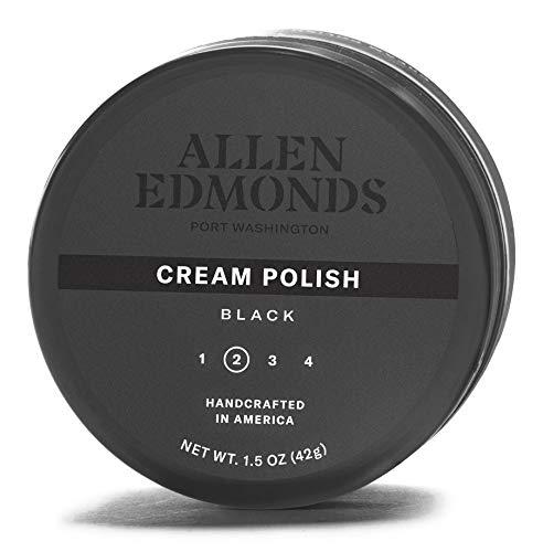 Allen Edmonds Men's Cream Polish Shoe, Black, One Size 0X US