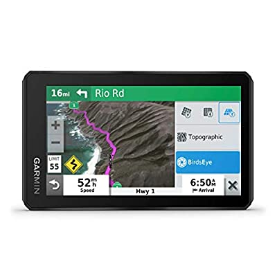 Garmin z?mo XT, All-Terrain Motorcycle GPS Navigation Device, 5.5-inch Ultrabright and Rain-Resistant Display