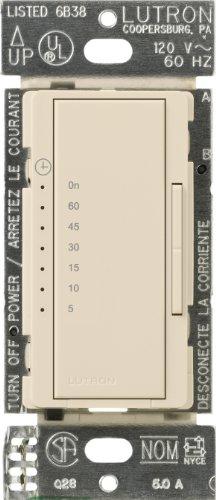 Lutron MA-T51-LA Maestro Countdown Timer, Light Almond