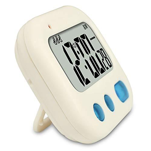 *reloj de mesa Reloj de escritorio Alumno Dormitorio Vibración Reloj de alarma Temporizador de cuenta regresiva Silencio Dibujos animados Vibración Reloj de alarma reloj del soporte ( color : A )
