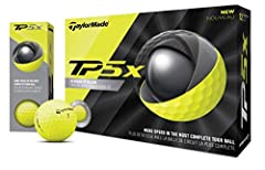 High visibility yellow Soft cast urethane cover increases groove interation for increased spin HFM material improves energy transfer through the ball for more distance XL low compression core increases launch angle and reduces drag