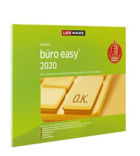 Lexware büro easy 2020 in frustfreier Verpackung (Jahreslizenz)|für Kleinunternehmer und Existenzgründer|Bürosoftware mit Basisfunktionen, Kassenbuch, Warenwirtschaft