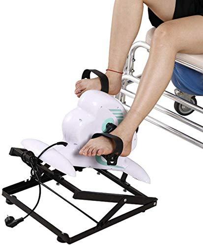 Bicicleta Pedal Trainer, Ejercitador Eléctrico para Personas Mayores Equipo De Rehabilitación De Fisioterapia Ciclo para Ejercicios De Brazos/Piernas Vendedores Ambulantes Estacionarios Gimnasio In