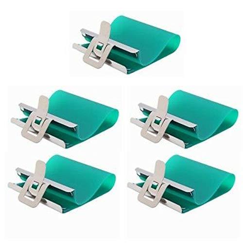 QOHFLD Accessori per Stampante 5Pcs Stampante a Sublimazione 3D Tazza in Silicone Avvolge Morsetti per Tazze Tazza in Gomma Dispositivo per stampi in Silicone per Tazze da 15 Once