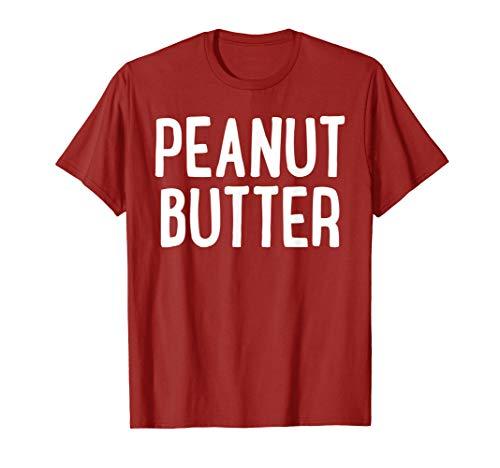 Peanut Butter T-Shirt Matching Halloween Costume T-Shirt