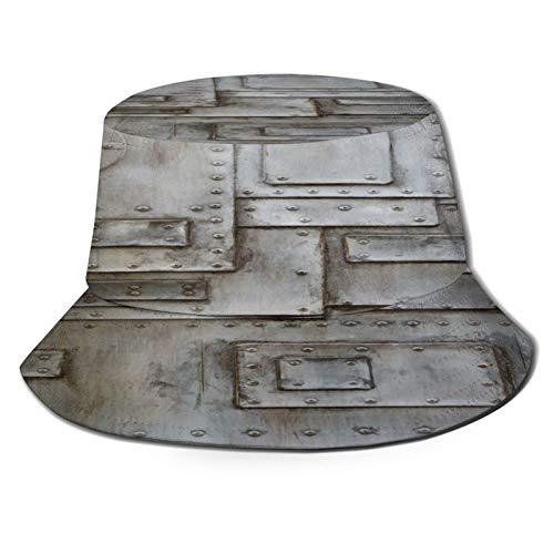 Sombrero de pesca,Industrial, oxidado, elegante, hierro, ojo