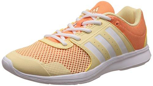 Adidas Essential Fun Ii W, Zapatillas para Mujer, Amarillo (Amasen/ftwbla/narsen), 36 2/3...