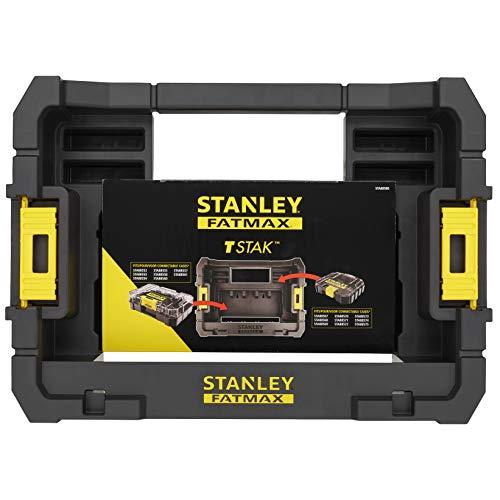 Preisvergleich Produktbild Stanley STA88580-XJ FatMax Caddy STA88580 (für bis zu 4 Schüttelboxen und 5 kleine ToughCases,  kompatibel mit den Aufbewahrungssystemen Pro-Stack und T-Stak,  eingebauter Tragegriff)