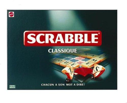 Mattel - 51332 - Jeu de société - Scrabble Classique