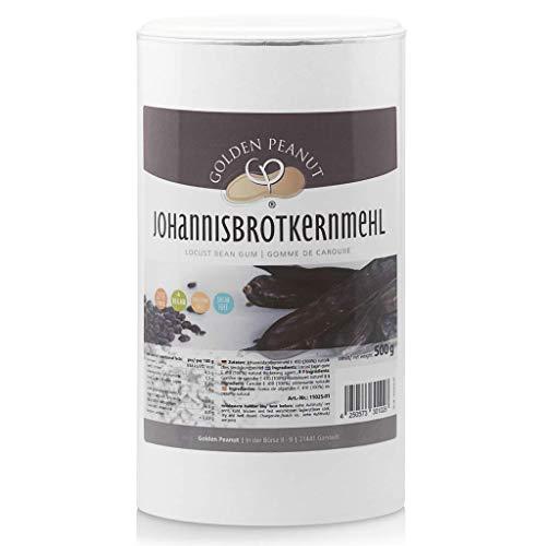 Johannisbrotkernmehl E 410, naturreines Bindemittel, glutenfrei, 500 g