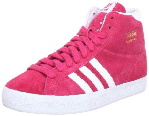 adidas Originals BASKET PROFI W Q23187, Damen Sneaker, Pink (BLAZE PINK S13 / RUNNING WHITE FTW / METALLIC GOLD), EU 41 1/3 (UK 7.5) (US 9)
