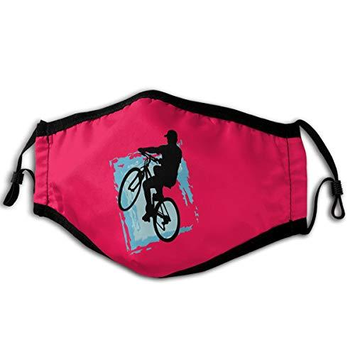 Mountain Bike Sport Unisex Reusable Face Mask Outdoor Dust Mask Black