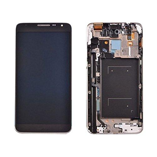 Schermo LCD Samsung Galaxy Galaxy iPartsBuy para Samsung Galaxy Note 3 Neo / N7505 Pantalla LCD + Asamblea de digitalizador de Pantalla táctil con Marco (Color : Negro)