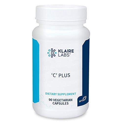 Klaire Labs C Plus with Bioflavonoids - Optimal Vitamin C Blend with Citrus Bioflavonoid Complex (90 Capsules)