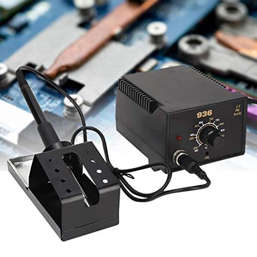 936 Estación de soldadura eléctrica de temperatura ajustable SMD Retrabajo de soldadura de hierro(Negro)