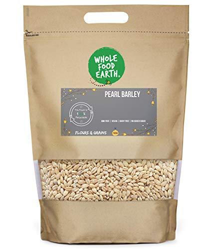 Wholefood Earth Pearl Barley - GMO Free - Vegan - Dairy Free - No Added...