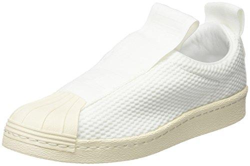 adidas Superstar Bw3S Slipon W, Zapatillas de Deporte para Mujer, (FTWR White/FTWR White/Off White), 38 EU