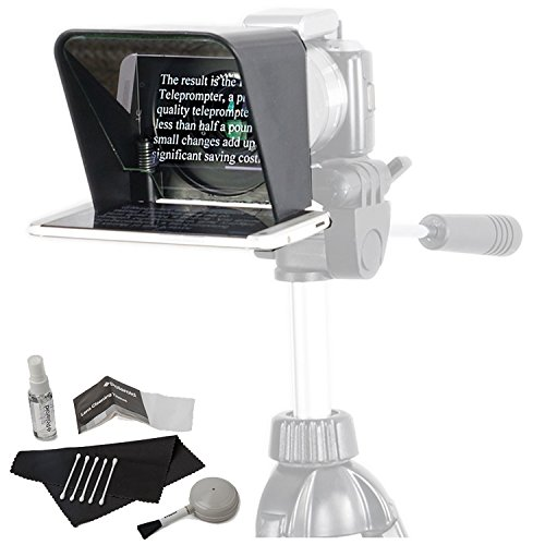 Parrot Teleprompter Version 2 Portable Teleprompter for Smartphone with Cleaning Kit