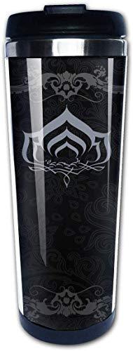 Botella Agua Acero Inoxidable Warframe Taza de Viaje, Termo Taza, Frasco de Vacío 13.5 Oz Graphic Travel Cup