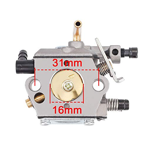 Hayskill WT-194 Carburetor w Tune Up Kit Air Filter for Sthil 024 026 MS240 MS260 Chainsaw WT-194-1 Tillotson HU-136A HS-136A Carb Replace 1121 120 0611