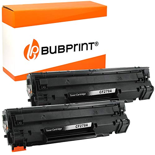 2 Bubprint Toner kompatibel für HP 79A CF279A für LaserJet Pro M12 M12a M12af M12w M26 M26a M26nw Schwarz