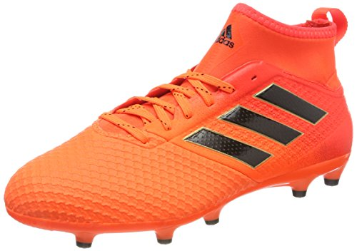 adidas Ace 17.3 Fg, Scarpe per Allenamento Calcio Uomo, Multicolore (Solar Orange/Core Black/Solar Red), 45 1/3 EU