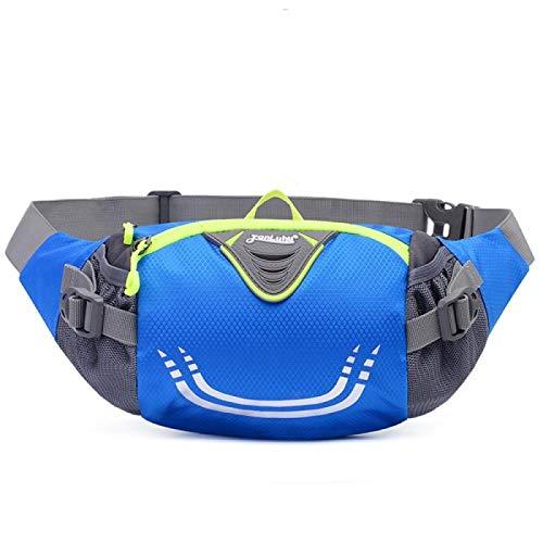 llv Nueva bolsa de cintura para hombres y mujeres de gran capacidad deportes cintura bolsa de ocio corriendo cintura bolsa impermeable multifuncional montar