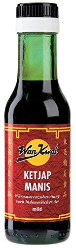 Wan Kwai - Ketjap Manis mild Würzsauce Asia - 125ml