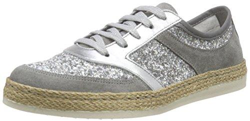 Tamaris Damen 1-1-23670-36 Sneaker, Silber (SILV. GLAM COM 975), 39 EU