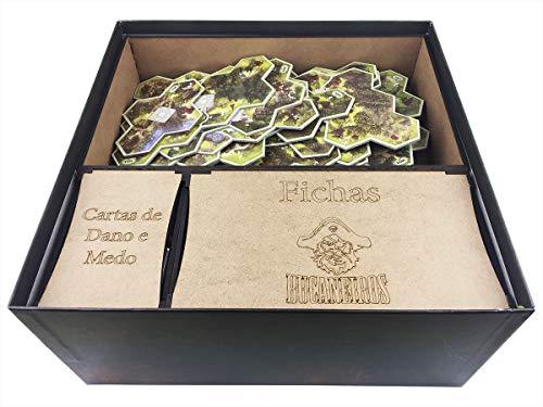 Organizador (insert) Para O Senhor Dos Anéis: Jornadas Na Terra Média Bucaneiros Jogos Madeira