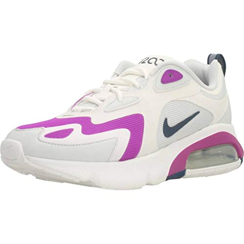 Nike Air MAX 231, Zapatillas de Gimnasio para Mujer, Multicolore Photon Dust White Vivid Purple Valerian Blue, 37.5 EU